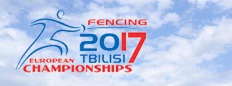 Scherma, Anteprima Campionati Europei Tbilisi 2017