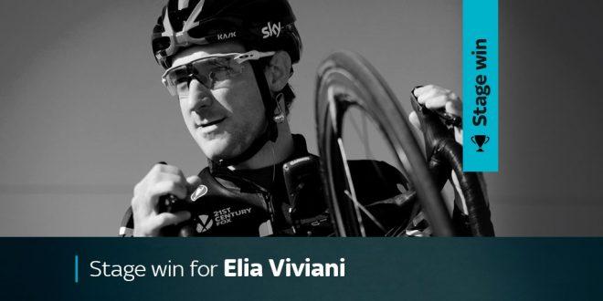 Route du Sud 2017, Viviani torna alla vittoria