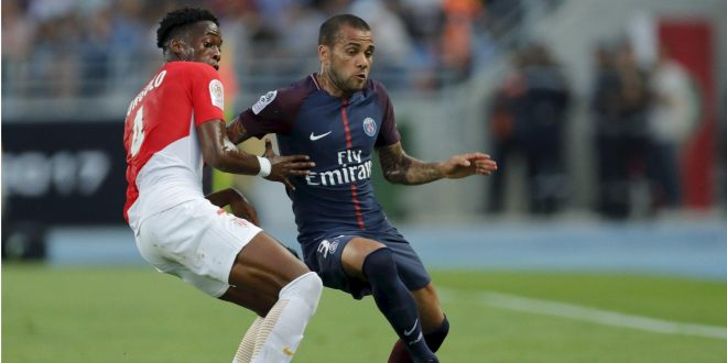 Supercoppa di Francia: Dani Alves si prende subito il Psg, 2-1 al Monaco