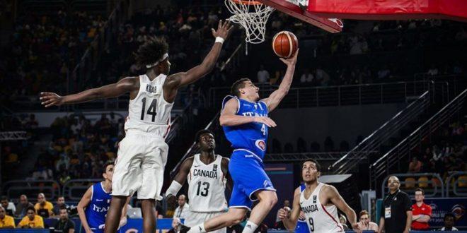 Mondiali basket Under 19, peccato per l'Italia: il Canada vince 79-60, per gli azzurrini è argento