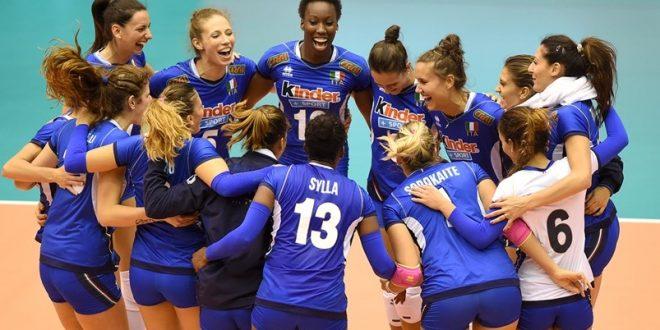 Mondiali Pallavolo Italia Calendario.Volley Femminile Il Calendario 2018 Dell Italia Le Date Di
