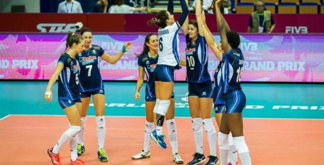 Grand Prix volley 2017, l'Italia chiude col ruggito: 3-2 di grinta alla Russia!
