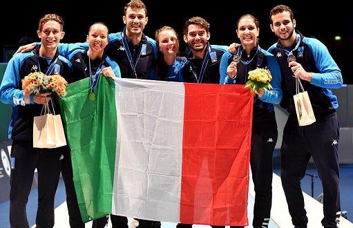 Mondiali Scherma Lipsia 2017, il medagliere finale: Italia numero uno!