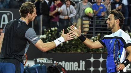 Wimbledon 2017: Fognini ci prova con Murray, ma non basta. Fuori anche Giorgi