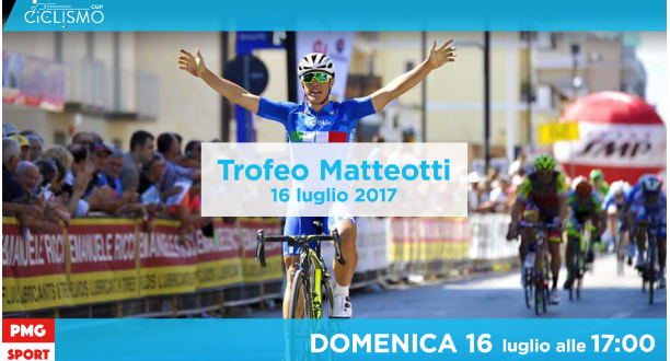 Ciclismo Cup, Trofeo Matteotti 2017 in video streaming su Mondiali.net