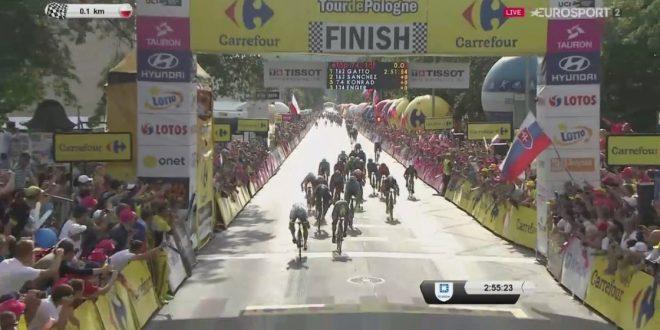 Giro di Polonia 2017, Peter Sagan di forza e di rabbia