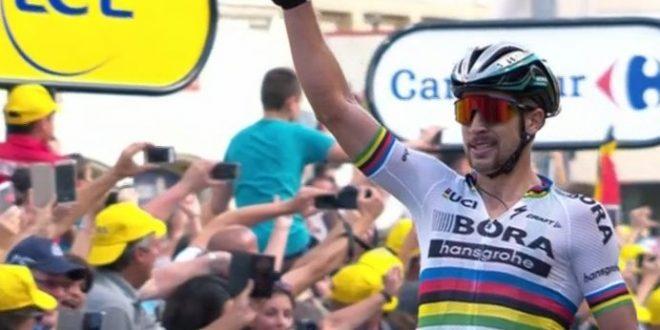 Tour de France 2017, Sagan non delude: vittoria a Longwy