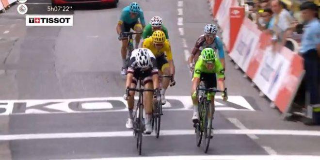 Tour de France 2017, Uran conquista Chambery. Froome resta in giallo, ritiri per Porte e Thomas
