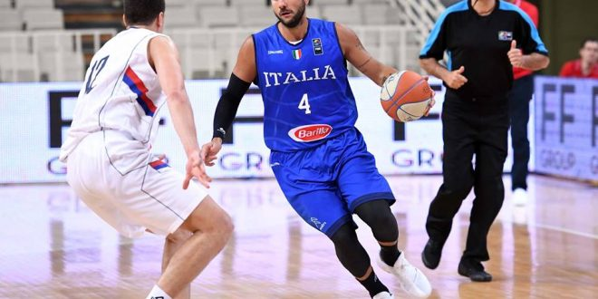 Torneo dell'Acropoli, con la Serbia Italbasket perde ma lancia bei segnali