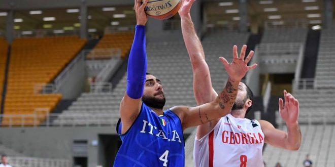 Torneo dell'Acropoli, Italbasket chiude col sorriso: Georgia piegata, ora Europei!