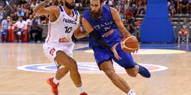 Italbasket crolla pure con la Francia: i Bleus vincono facilmente 63-88, è allarme azzurro