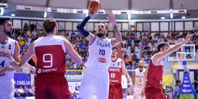 Italbasket, finalmente una vittoria che convince: Turchia stesa 73-53