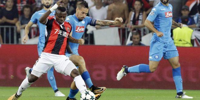 Playoff Champions, troppo Napoli pure a Nizza: azzurri ai gironi in carrozza