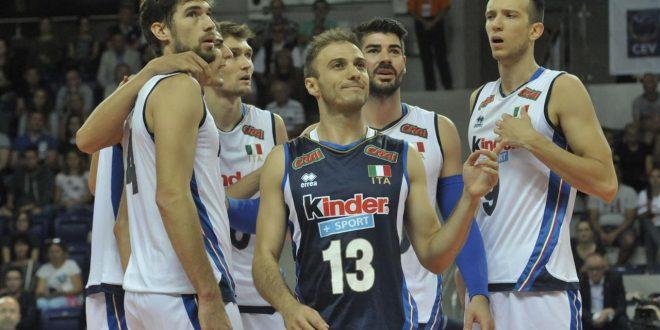 Europei volley maschile, l'Italia suda ma la Rep. Ceca va al tappeto: 2° posto, ora quarti!