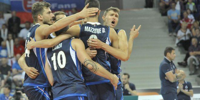 Europei volley maschile, l'Italia c'è: 3-0 alla Slovacchia, ora missione playoff