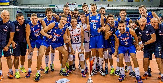 Europei volley maschile 2017: tutte le dirette TV, Italvolley sempre sulla RAI!