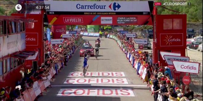 Vuelta a Espana 2017, guizzo Alaphilippe a Xorret de Catì. Froome, altra prova di forza