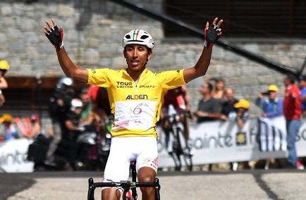 Fenomeno Egan Bernal: trionfa al Tour de l'Avenir 2017 e corre verso il Team Sky