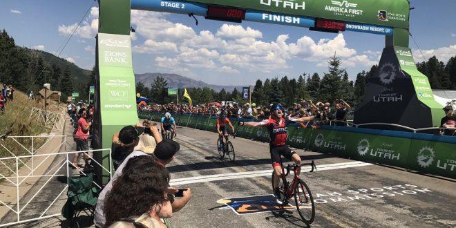 Tour of Utah 2017, tappa e maglia per Bookwalter