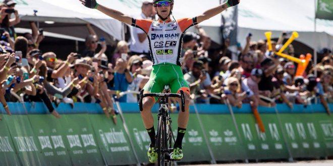 Tour of Utah 2017, capolavoro Bardiani-Csf: Ciccone davanti a Sterbini