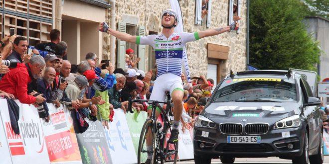 Tour du Limousin 2017, Gesbert vince la prima tappa