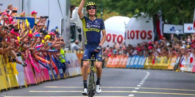 Giro di Polonia 2017, Haig in solitaria a Zakopane