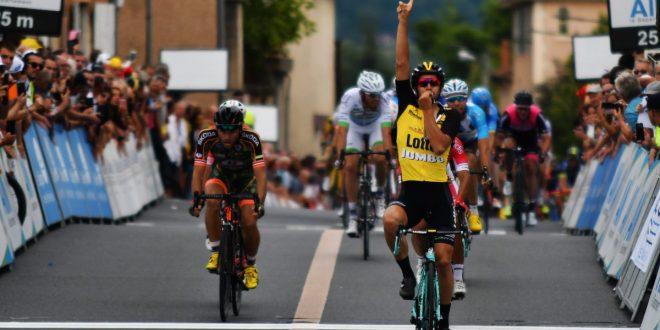 Tour de l'Ain 2017, Lobato batte Bouhanni