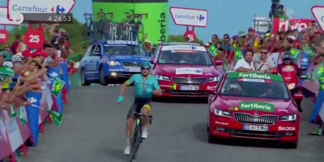 Vuelta a Espana 2017, Lutsenko trionfa ad Alcossebre