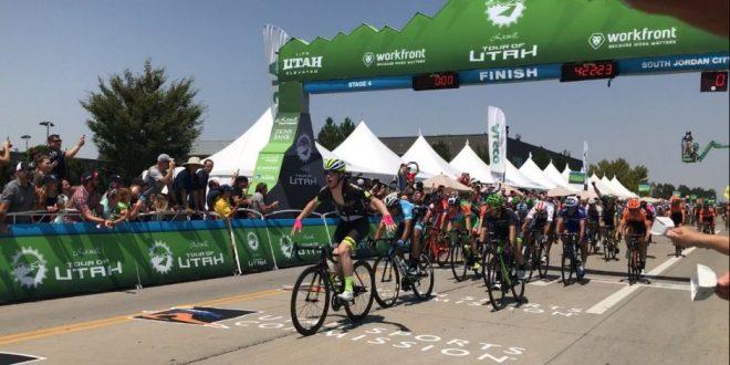 Tour of Utah 2017, Murphy regola tutti in volata