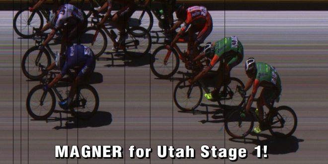 Tour of Utah 2017, Magner vince la prima