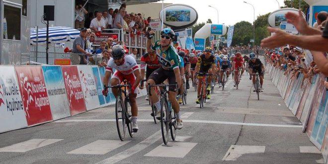 Tour du Poitou Charentes 2017: Viviani sfreccia al mattino, Pedersen primo a crono