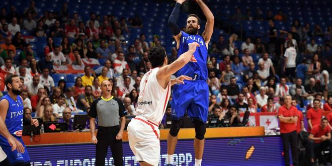 EuroBasket 2017, buona l'ultima dell'Italia: Georgia piegata, azzurri terzi