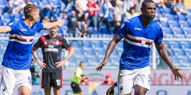 Serie A, 6ª giornata: Sampdoria-Milan 2-0; altro tonfo rossonero, blucerchiati in volo