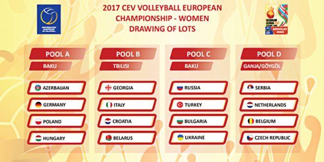 Europei volley femminile: la guida di Mondiali.net con gironi e calendario