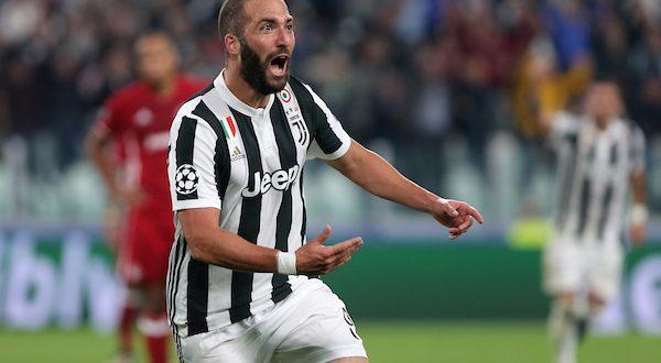 Champions, 2ª giornata: Juventus-Olympiakos 2-0, riecco Higuain