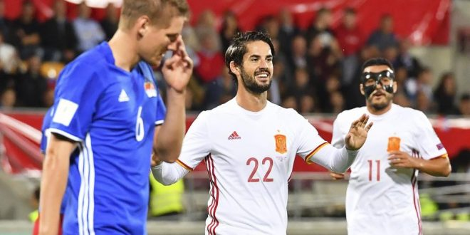 Qualificazioni Russia 2018: la Spagna esagera; nel gruppo I è vera bagarre