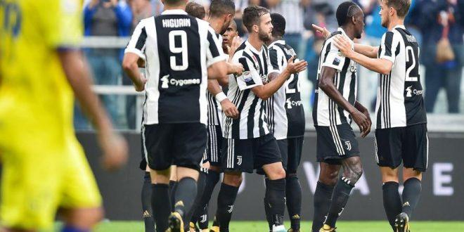 Serie A, 3ª giornata: altro tris della Juventus, anche il Chievo va al tappeto