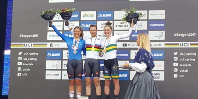 Mondiali Bergen 2017, trionfo Italia: Pirrone e Vigilia oro e argento nella crono juniores