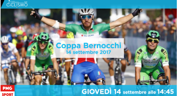 Ciclismo Cup, Coppa Bernocchi 2017 in video streaming su Mondiali.net