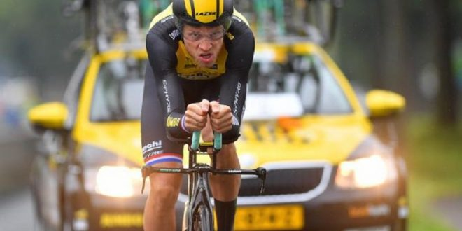 Tour of Britain 2017, Lars Boom primo a crono