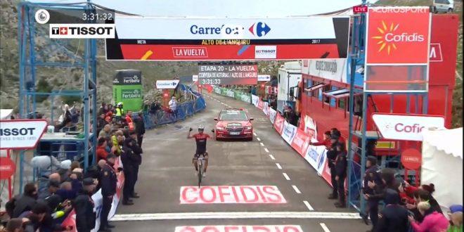 Vuelta a Espana 2017, l'Angliru incorona Contador e Froome