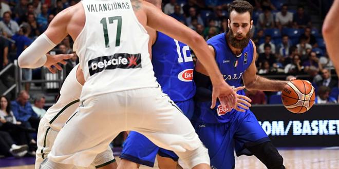 EuroBasket 2017: l'Italia lotta, ma è piegata dalla Lituania