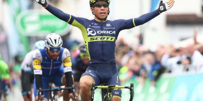 Tour of Britain 2017, Caleb Ewan ancora a segno