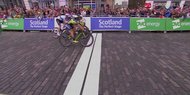 Tour of Britain 2017, Caleb Ewan si impone nella prima tappa. Terzo Viviani