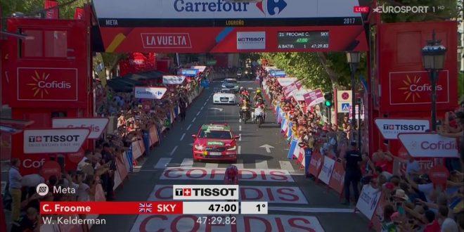 Vuelta a Espana 2017, Froome vede rosso: sigillo a crono! Buona prova di Nibali