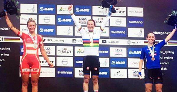 Mondiali Bergen 2017, fantastica Elena Pirrone: oro tra le juniores. Bronzo Paternoster