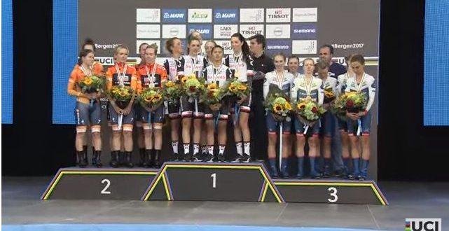 Mondiali Bergen 2017, Sunweb oro nella cronosquadre donne