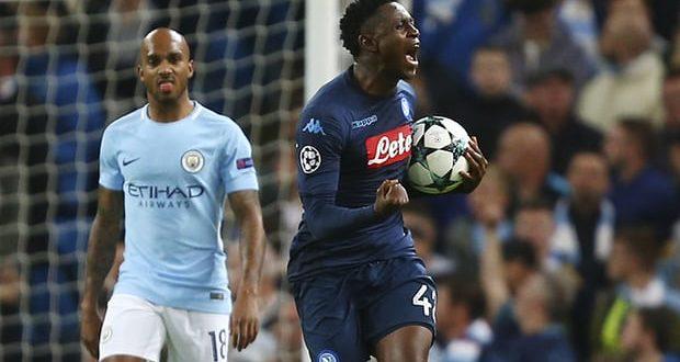 Champions, 3ª giornata: City-Napoli 2-1, show dei guardioliani, partenopei solo a metà