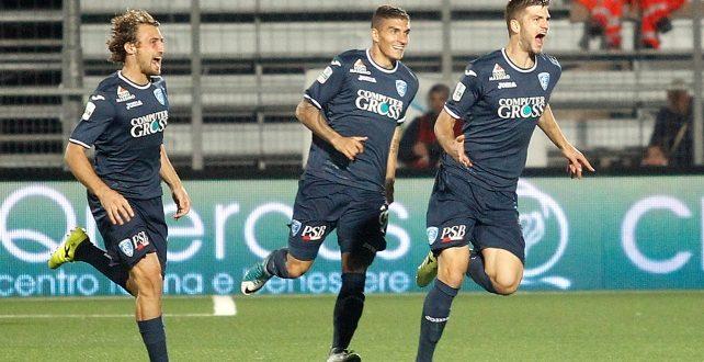 Serie B, 9ª giornata: Entella-Empoli 2-3, i toscani sono i nuovi leader in classifica