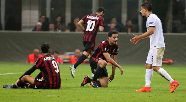 Europa League, 3ª giornata: Milan-Aek Atene 0-0, rossoneri inchiodati
